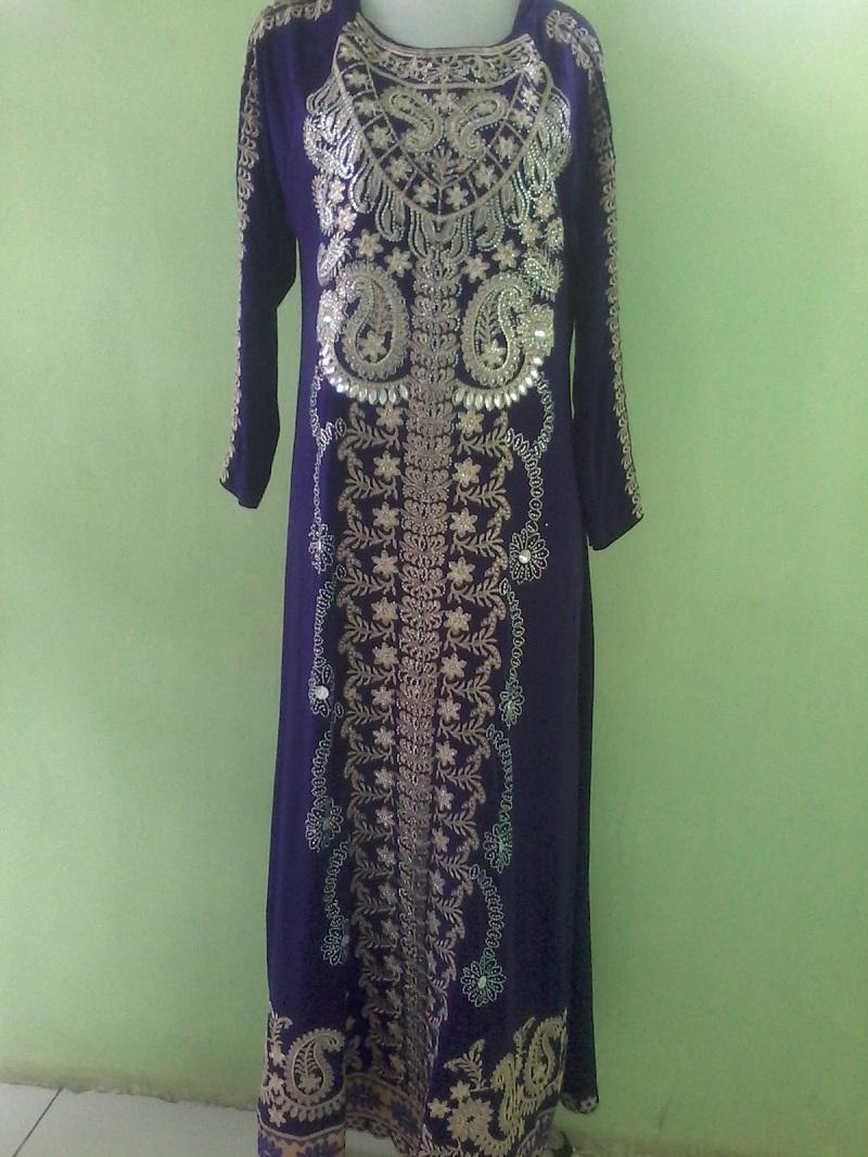 Baju Gamis India Jodha Akbar Ungu Baju Pesta Busana Muslim Modern