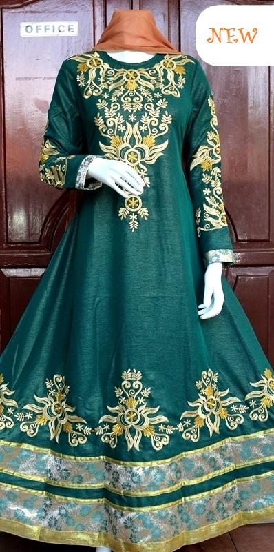 Baju india jodha akbar terbaru hijau baju pesta busana Baju gamis india terbaru