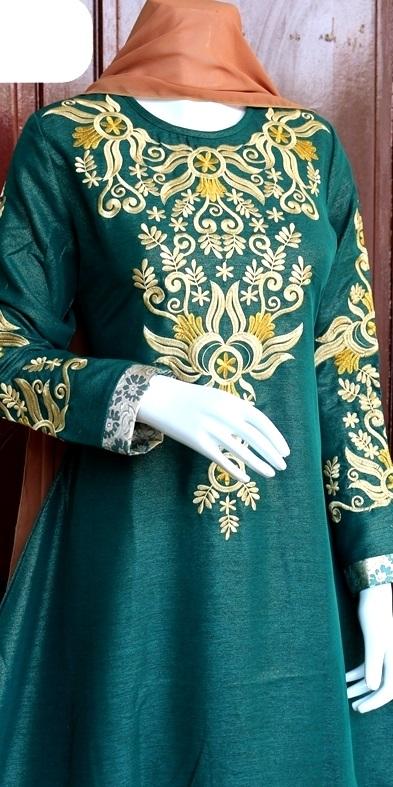 baju india hijau