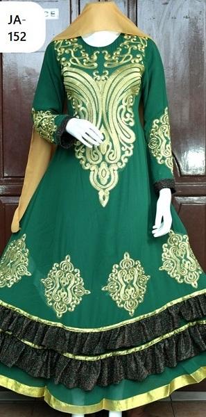 model gaun muslim terbaru