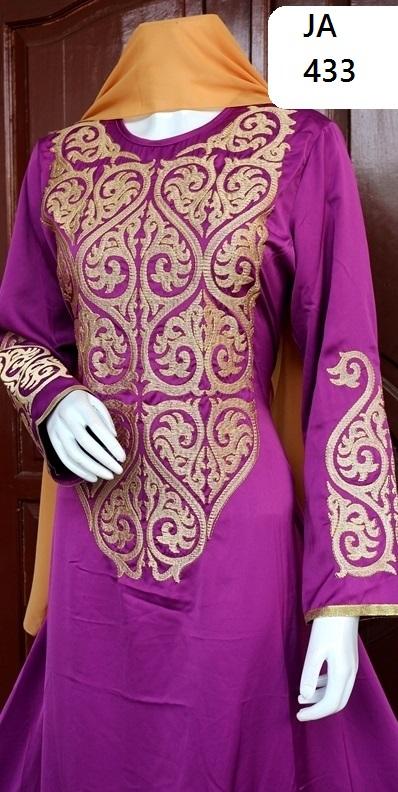 model gamis muslim