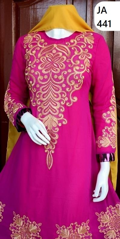 model gaun muslim