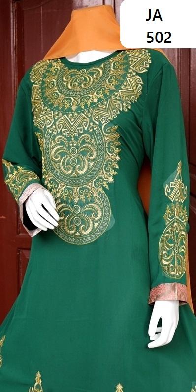 contoh kebaya pengantin muslim