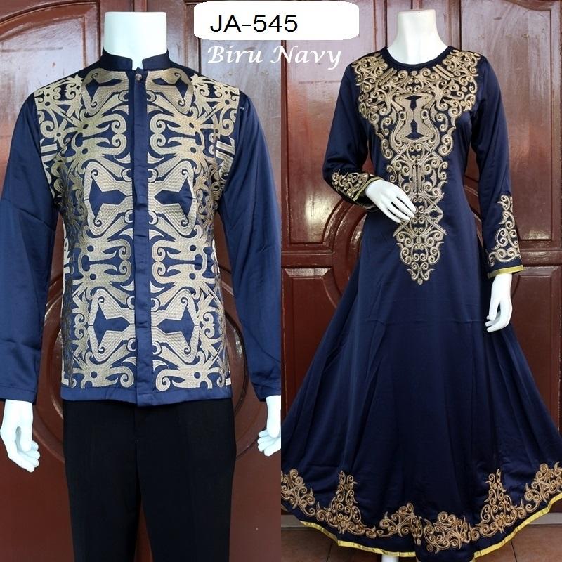 Baju Muslim Couple Murah Panjang Edisi 2 Baju Pesta