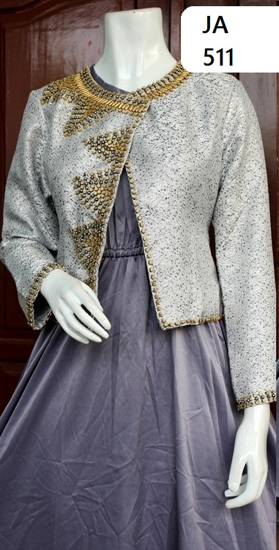 model gaun kebaya modern