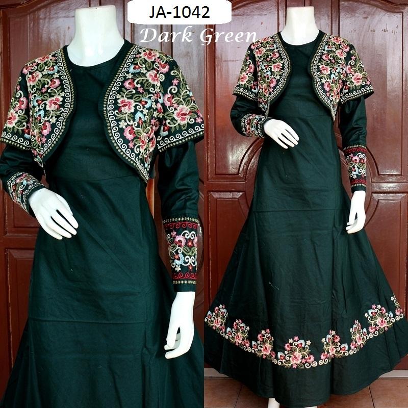 Baju Jodha Katun Rompi 3 Warna Baju Pesta Busana Muslim Modern