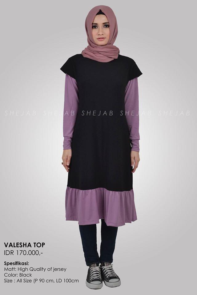 jilbab terbaru shejab