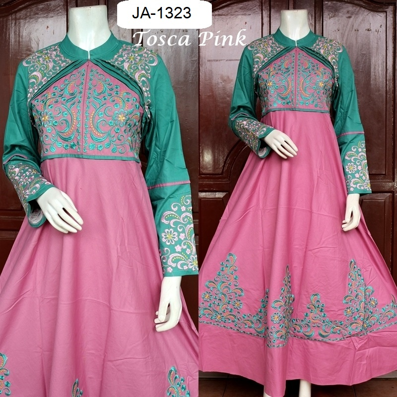 Baju Pesta Katun Princess Cerah 4 Warna Baju Pesta