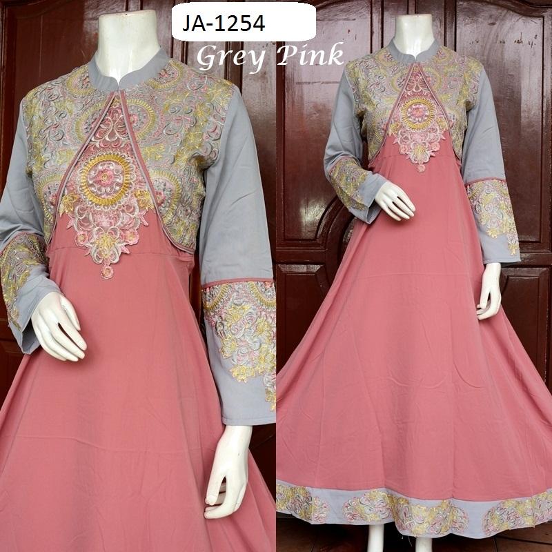 Baju Pesta Katun Mewah 3 Warna Baju Pesta Busana Muslim