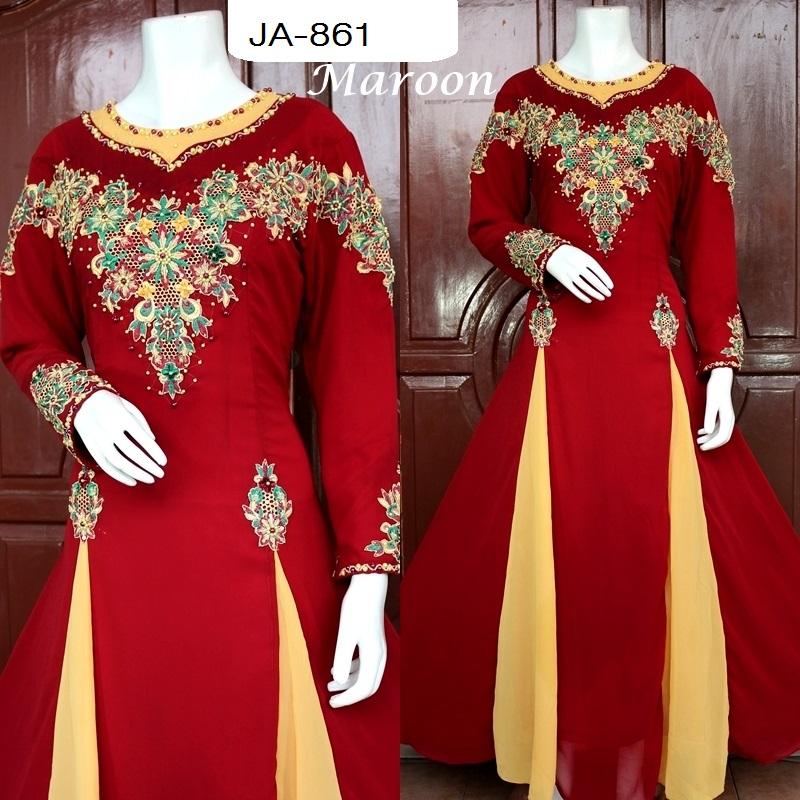 gaun kebaya muslim