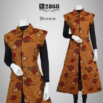 Outer Batik Melinda Fs2868 Baju Pesta Busana Muslim Modern Model