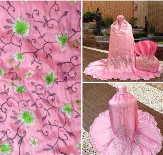 Mukena Behel Aini Jumbo Pink