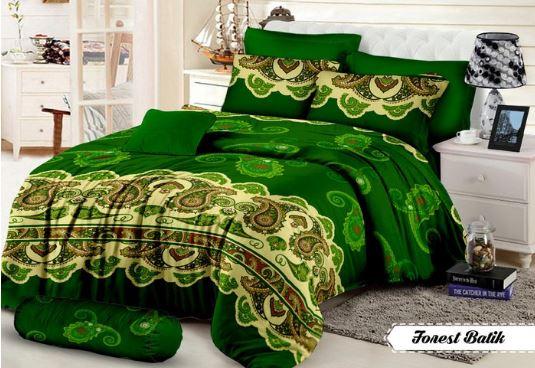 sprei hijau